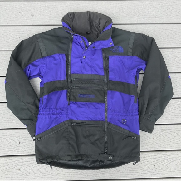 The North Face Other - Steep Tech Technical Shell Jacket M Blue TNF Hood